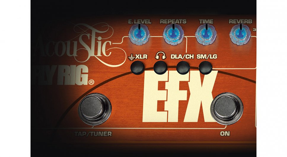 Tech21 Acoustic Fly Rig - sezione FX