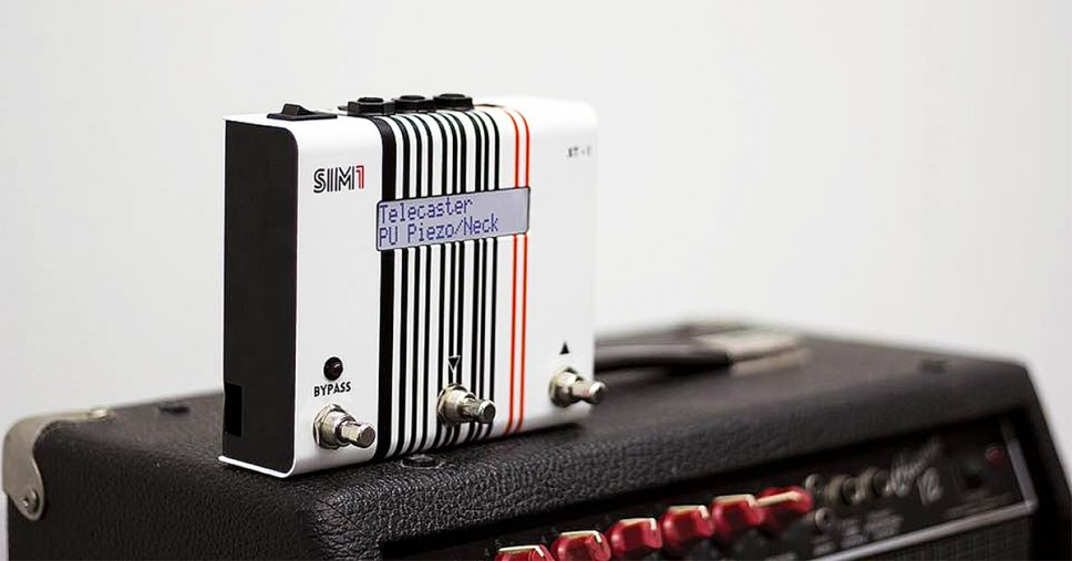 Tante chitarre diverse in un solo pedale con SIM1