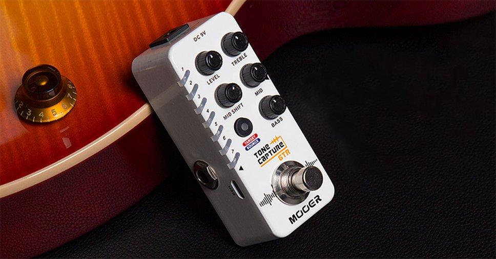 Un pedale Mooer per catturare il suono delle altre chitarre
